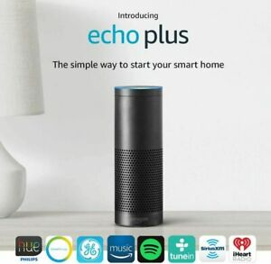 Amazon Echo Plus with built in Hub 1st Generation Smart Speaker Assistant Black