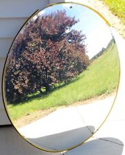 Vintage 1950's Fred Silver & Company Traffic Safety Mirror Convex Security Mirro
