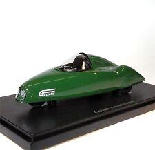 AutoCult 07001, Goliath Rekordwagen, 1951, Dreirad, grün, 1/43