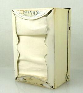 Vintage Sanek Dispenser Barber Neck Tissue Strips