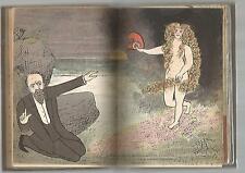 HUMOUR CARICATURE GYP OHE LES DIRIGEANTS DESSINS EN COULEURS PAR PARTIT BOB 1896