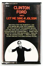 CLINTON FORD SINGS LET ME SING A JOLSON SONG ALBUM CASSETTE 1979 CHEVRON CHV 142