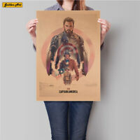 Marvel Captain America Collectible Super Hero Vintage picture Kids free shipping