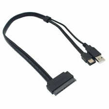 2.5 inch Hard Disk Drive SATA 22 Pin to eSATA Data USB Power Cable 50CM