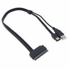 2.5 pulgadas disco duro SATA 22 Pin para Cable de alimentación USB de datos eSATA 50CM