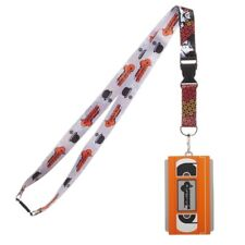 A Clockwork Orange w/Id Holder and molded rubber Vhs Charm Keychain