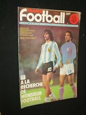 FRANCE FOOTBALL N° 1680 SPECIAL 2° TOUR WORLD CUP 78 ARGENTINA 1978 REP PSG
