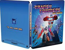 TRANSFORMERS THE MOVIE 30TH ANNIVERSARY LIMITED EDITION STEELBOOK BLURAY IN HAND