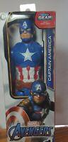 NEW Marvel Avengers Captain America Titan Hero Series 12-inch Action Figure NIB