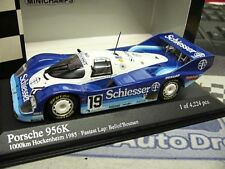 PORSCHE 956 K Bellof Boutsen #19 Schiesser Brun Hockenheim 1985 Minichamps 1:43