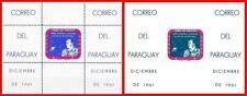 Paraguay 1961 Usa Space Achievements 2 S/S Mnh Cv$250.00