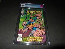 Superman the Man of Steel 17 CGC 9.6, 1st Doomsday Cameo (DC 1992)