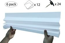 6 x Genuine Temposhade® Instant Blinds - (89cm x 180cm)  - 'Quick Fix'