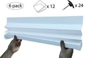 Original Temposhade® - Instant Temporary Blinds (6-Pack) - (89cm x 180cm)