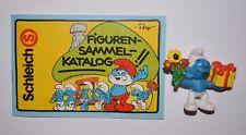 Schleich Figuren Sammel-katalog Schlümpfe 1983 24 Seiten
