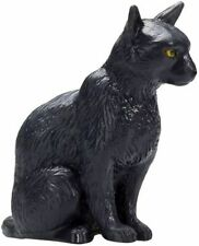 Mojo 387372 Cat Sitting Black 1 3/8in Farm Animal