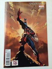 Spider-Man 2 1:50 Campbell Captain America Variant Near Mint Minus Condition NM-