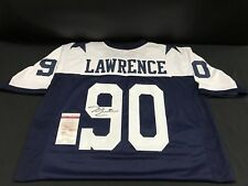 DEMARCUS LAWRENCE DALLAS COWBOYS SIGNED JERSEY JSA WITNESS WP554204 FREE S&H