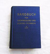 Handbuch der Hochfrequenz- und Elektro-Techniker Band 6 (1966)