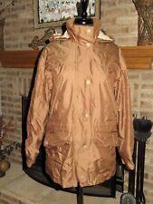 Womens BARBOUR Bronze Waterproof Coldstream Jacquard Jacket UK 12 US 8