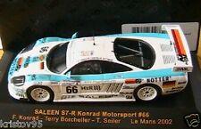 SALEEN S7R 24 HEURES LE MANS 2002 IXO 1/43 KONRAD MOTORSPORT LMM043 KONRAD