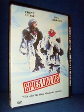 Spies Like Us (DVD, 1998) Brand New Factory Sealed!•USA•Chevy Chase•Dan Aykroyd