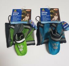 Set of 4 Top Paw Dog Hiking Boots Protector Rubber Sole Pet Walking Shoes