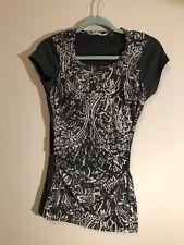f3404b9b8a4 Tahari Grey T Shirt - Size Medium - Tahari Soft Jersey Knit T Shirt - Womens
