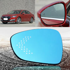 For Peugeot 508 Rearview Mirror Glare Proof Blue Glasses Mirror LED Lamp Heated