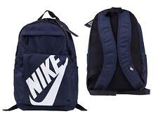 Nike Elemental Rucksack Backpack Unisex Sportswear Sport School Bag Gym Navy