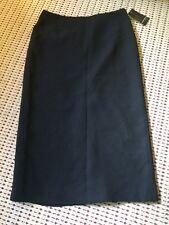 Jones New York Long Straight Black Lined Skirt Size 8