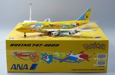"""ANA B747-400D """" PIKACHU JUMPO """" FLAP DOWN JC Wings 1:200 Diecast    XX2154A"""
