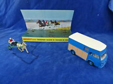 RARE +++ TOP +++ JOUET ANCIEN  / Old toy - DINKY TOYS - SAVIEM CHEVAUX SULKY 571