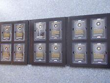 Gold Diamanten Piedford 2019 12x 1/100 oz Unzen Ruanda 10 FRW Münzen