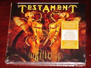 Testament: The Gathering CD 2018 Nuclear Blast Records USA NB 4227-0 Digipak NEW