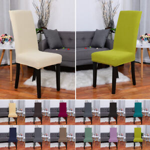 Knit Soft Durable Spandex Fit Home Seat Chair Covers Slipcover Protector