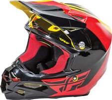 FLY RACING F2 CARBON PURE HELMET YELLOW/BLACK/RED M