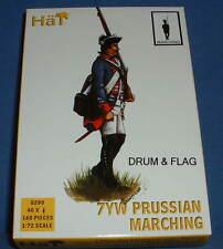 Sombrero 8280 prusiano infantería marchando. guerra de los siete años. 40 figuras 1/72 escala.