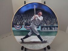 """Collector Plate Legends Of Baseball """"Babe Ruth The Called Shot"""""""