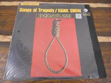 Songs of Tragedy Hank Snow LSP-2901 Vintage Vinyl Record LP 1964