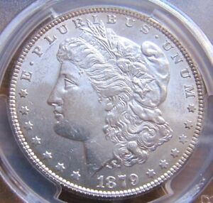 1879-P Morgan Silver Dollar, Graded MS62 By PCGS!