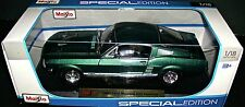 1967 FORD MUSTANG GTA FASTBACK 1:18 SCALE DIECAST  SPECIAL EDITION MAISTO NEW