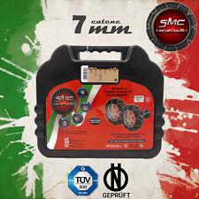 CATENE DA NEVE OMOLOGATE SMC 7mm PER GOMME 215 45 R 17 GRUPPO 90