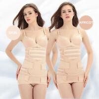 3 In1 Postpartum Belt Belly Wrap Slim Body Shaper Support Waist Shapewear Girdle