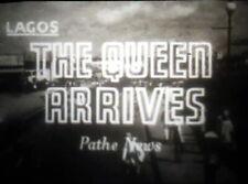 16mm Film Reel, Queen Elizabeth Tour of Nigeria 1956 Pathe News Reel. FREEPOST