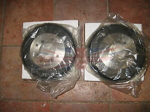 New Pair of MGA Brake Drums 1955-1958 Front Drums with Wire Wheels