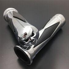 chrome 1 inch Hand Grip For Suzuki Marauder Intruder 800 1400 1500 Boulevard