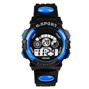 Multifunction Led Digital Sports Wrist Watch for Boys & Girls Children & Kids