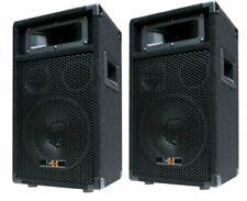 2x 400W DJ PA PARTY LAUTSPRECHER PAAR Disco Boxen 20cm/8