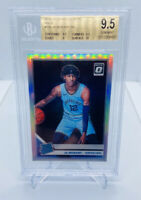 2019-20 DONRUSS OPTIC JA MORANT SILVER HOLO PRIZM BGS 9.5 GEM MINT RR/ROOKIE PSA